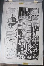 Buy Original Comic Art NIGHTFORCE Issue 6 Page 1 Art by Shawn Martinbrough GREAT1997