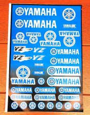 "Buy Racing Team YAMAHA stickers sticker Vinyl sheet pack kit 12"" X 18"""