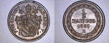 Buy 1850-VR Italian States Papal States 1/2 Baiocco World Coin - Pius IX