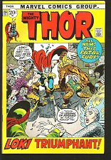 Buy THOR #194 Conway and Buscema Marvel Comics 1971 1st Print and Series