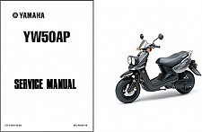 Buy 2002-2011 Yamaha Zuma 50 ( YW50, BWs, MBK Booster ) Scooter Service Manual CD