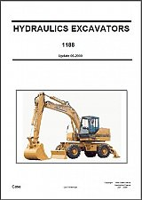 Buy Case 1188 Hydraulic Excavator Service Manual on a CD