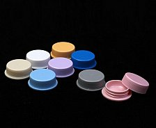 Buy 25 Empty Small Jar Plastic Cosmetic Sample Cream Container 2.5 g