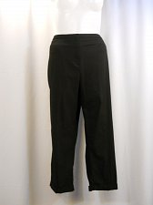Buy PLUS SIZE 24W Womens Dress Pants STYLE&CO Solid Black Tummy Control Skinny Legs