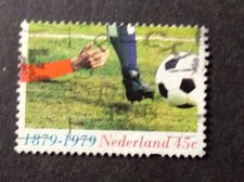 Buy Netherlands -1v Used Stamp 1979 - Nb 1114 - Football
