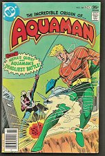 Buy AQUAMAN #58 DC Comics 1977 Bronze Age 1st print & series VF or better