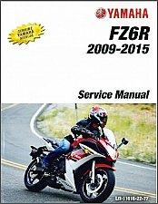 Buy 2009-2015 Yamaha FZ6R Service Repair Manual on a CD