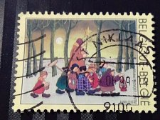 Buy Belgium used 1v stamp 1998 Christmas Stamp Thrematic Religion