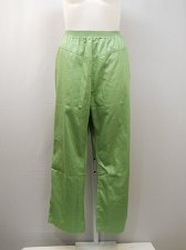 Buy Womens Casual Pants PLUS SIZE 26W AMERICAN SWEETHEART Solid Green Inseam 29