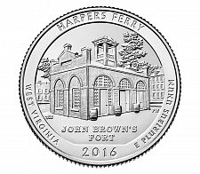 Buy 2016-S HARPERS FERRY NATIONAL HISTORICAL PARK QUARTER-UNCIRCULATED From Mint bag