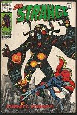 Buy Dr. Strange #180 Gene Colan/RoyThomas/Palmer FINE- Marvel Comics 1969 1st Print