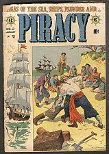 Buy PIRACY #2 Williamson/Torres, Wally Wood art 1954 EC COMICS 1st Print & Series