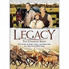 Buy Legacy western Complete 18episodes TV Series DVD Cullen Family Collection Show