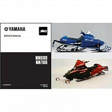 Buy 99-06 Yamaha Mountain Max 600 / 700 Snowmobile Service Manual CD - MM600D MM700D