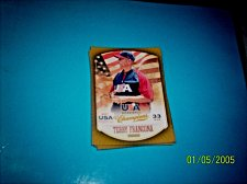 Buy TERRY FRANCONA #3 2013 Panini USA Champions Gold Boarder Card FREE SHIP