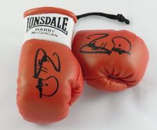 Buy Autographed Mini Boxing Gloves Barry McGuigan