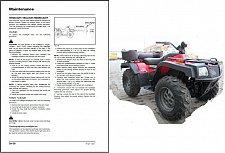 Buy Massey Ferguson AgTV 250 300 400 500 Quad ATV Service Manual on a CD