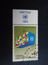 Buy UNO Vienna 1v Stamp 1983 Trade and development FD Cancellation
