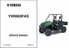 Buy 2004-2005-2006-2007 Yamaha Rhino 660 ( YXR660 ) UTV Service Manual on a CD