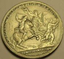 Buy Comitia Americana 37.8mm Solid Pewter Medallion~