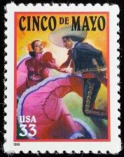 Buy 1999 33c Cinco de Mayo, Battle of Puebla Scott 3309 Mint F/VF NH