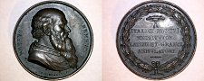 Buy Pietro Bembo Bust in Bronze Medal by P. Girometti (1811-59) -Italian Reniassance