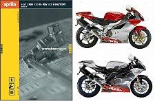 Buy 2004-2005-2006-2007-2008-2009-2010 Aprilia RSV 1000 R Factory Service Manual CD