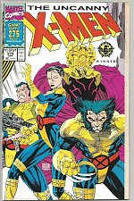 Buy UNCANNY X-MEN #275 Marvel Comics 1st Print & oldest Series Double-sized