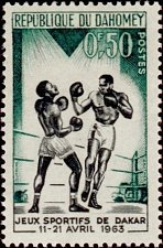 Buy Dahomey 1v mnh Stamp 1963 Michel213 Sports games from Dakar