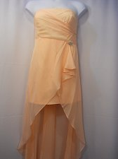 Buy Prom Bridesmaid Formal Dress Size 3XL ASPEED Jeweled Brooch Peach Strapless