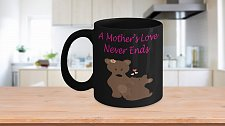 Buy A Mother's Love Never Ends Bears Coffee Mug