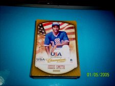 Buy OZZIE SMITH #1 2013 Panini USA Champions Gold Boarder Card FREE SHIP