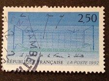 Buy France 1v used stamp 1992 National Pavilion of France Mi 2882