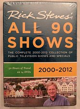 Buy Rick Steves Europe: All 90 Shows (DVD, 2011, 14-Disc Set) Sealed, new in box