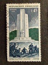 Buy France 1v used 1969 stamp MI 1675 Second World War stamp