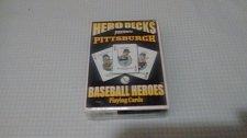 Buy hero decks pittsburgh pirates baseball heros playing cards (w/Clemente, SEALED)