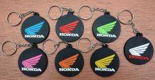 Buy KEYCHAIN KEYRING HONDA LOGO RUBBER ROUND MOTORCYCLE BIKE ,GIFT