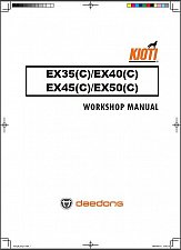 Buy Kioti EX35 EX40 EX45 EX50 Tractor Repair Service Manual CD ----- EX 35 40 45 50