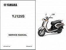 Buy 2004-2010 Yamaha YJ125 Vino 125 Scooter Service Manual on a CD