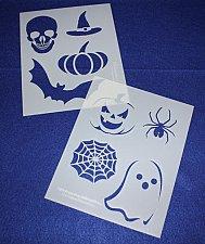 Buy 2 -Mylar 14 Mil Halloween Stencils Painting/Crafts/Stencil/Template