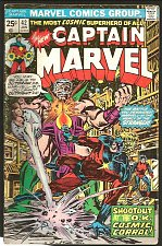 Buy CAPTAIN MARVEL #42 Very Good+/ Fine- Marvel Comics 1976 GUARDIANS OF THE GALAXY