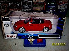 Buy MAISTO SPECIAL EDITION 1/24 AUDI ROADSTER RED NEW DIECAST OPENING TRUNK DOORS