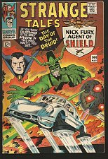 Buy Strange Tales #144 DR. STRANGE Steve Ditko Roy Thomas SHIELD Kirby/Purcell1966