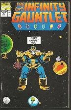 Buy Infinity Gauntlet #4 Marvel Comics 1st print 1991