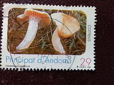 Buy Andorra Spanish 1994 1v used stamp Mi 239 Mushrooms Nature preservation