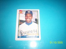 Buy 1991 Topps Traded card of willie randolph brewers #95T mint free ship