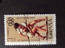 Buy Espagne - 1976 - Juegos Olimpicos Montreal 1976 - Lucha Canaria