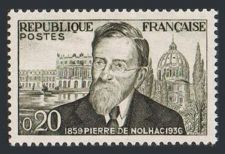 Buy France Pierre de Nolhac mnh 1960