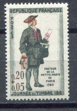 Buy France Stamp Day mnh 1961