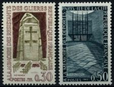 Buy France Resistance Fighters Memorials mnh 1963